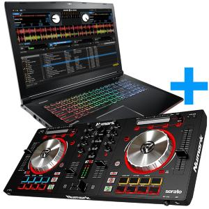 Controleur DJ 2 voies Numark Mixtrack Pro III plus PC