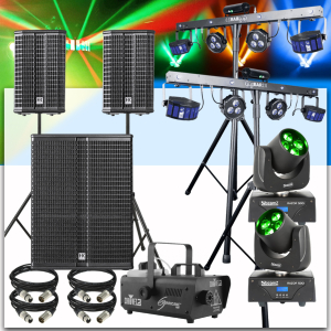 location enceintes concert pack son 4400 Watts